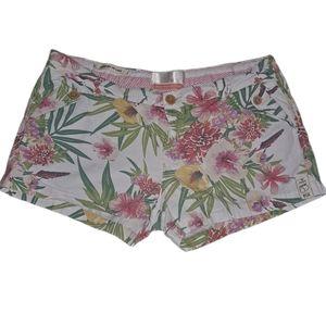 BSK floral Chino shorts